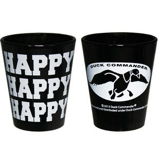 Duck Dynasty Duck Commander Happy Happy Happy Shot Glass