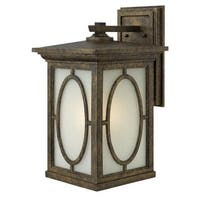 """Hinkley Lighting 1495 19.5"""" Height 1 Light Lantern Outdoor Wall Sconce from the Randolph Collection"""