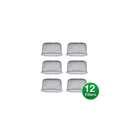 Replacement Coffee Water Filter for Braun BRSC004 6 Filters (2-Pack)