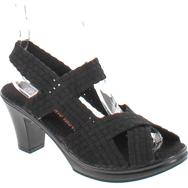 Bernie Mev Women's Lizette Synthetic Sandals - Black