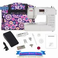 Janome DC1050 Computerized Sewing Machine w/ Bonus Bundle