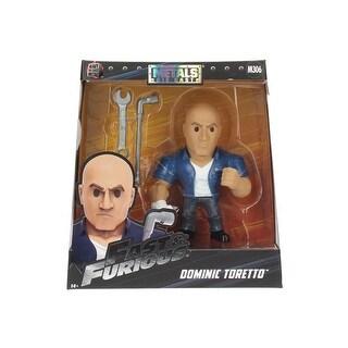 "Fast & the Furious Dominic Toretto 6"" Metal Figure"