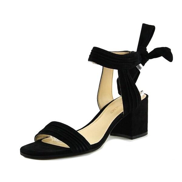 Ivanka Trump Edline Black Sandals