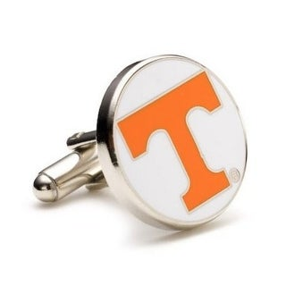 Silver Plated University of Tennessee Volunteers Cufflinks