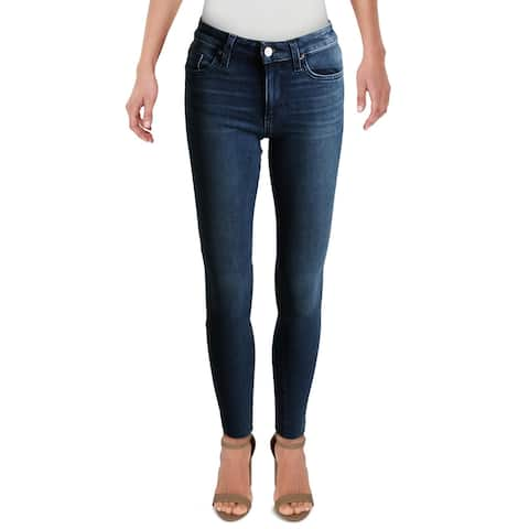 Joe's Jeans Womens The Icon Skinny Jeans Mid-Rise Ankle - Katia