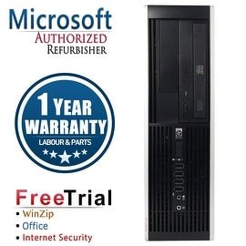 Refurbished HP Compaq Elite 8300 SFF Intel Core I7 3770 3.4G 8G DDR3 1TB DVD WIN 10 Pro 64 1 Year Warranty