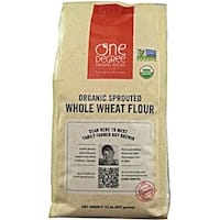 One Degree Organic Foods - Sprouted Whole Wheat Flour ( 6 - 32 oz bags)