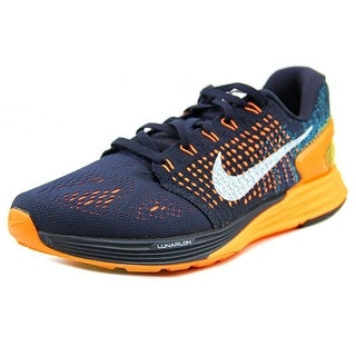 Nike Lunarglide 7 Women Round Toe Synthetic Black Running Shoe