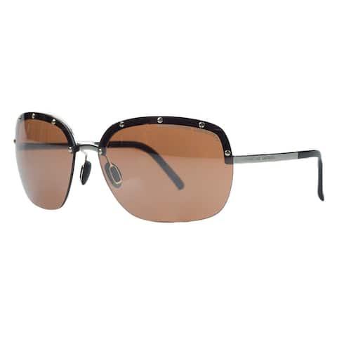 Porsche P8576-B Gold Square Sunglasses - 65-15-135