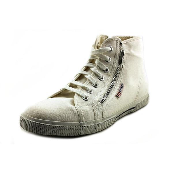 Superga 2224 Cotdu Women White Sneakers Shoes