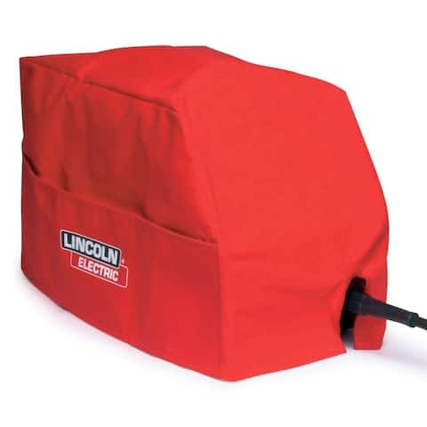 Lincoln Electric KH495 Small Wire Feed Welder Canvas Cover, Red