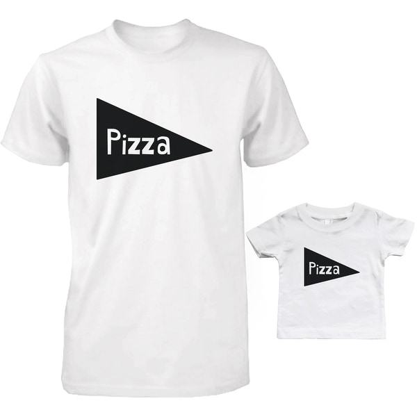 Pizza Dad and Baby Matching T-Shirts