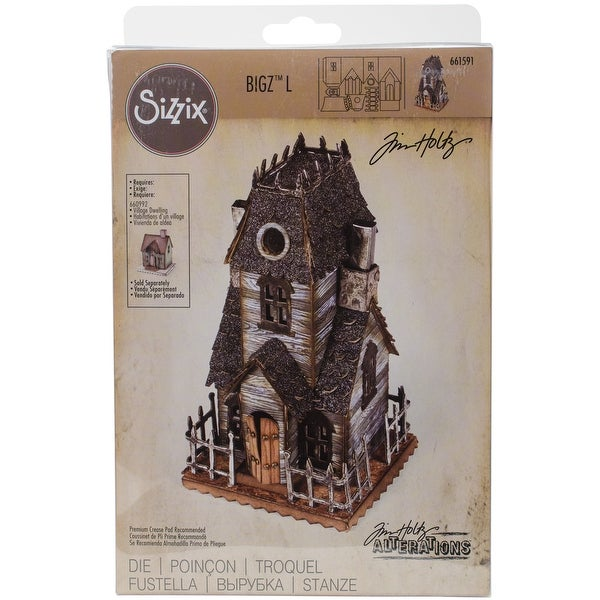 Sizzix Thinlits Dies By Tim Holtz-Village Manor