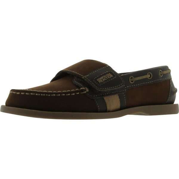 Kenneth Cole Reaction Lock N See Loafer - Dark Brown - 2 m us little kid