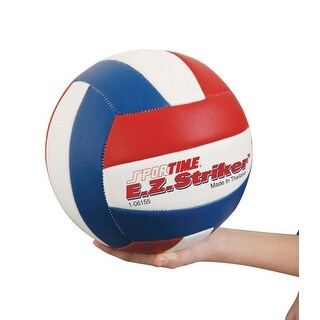 Sportime E.Z. Striker Volleyball, Red/White/Blue