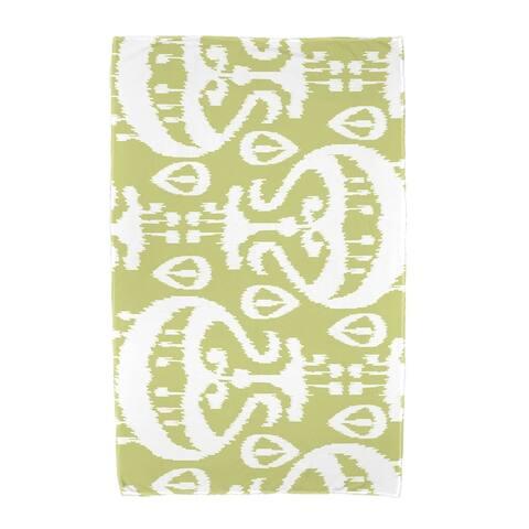 36 x 72-inch Ikat Geometric Print Beach Towel