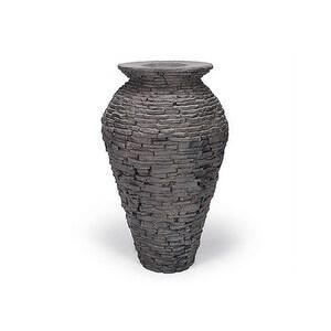 Aquascape 78207 Stacked Slate Urn - Medium