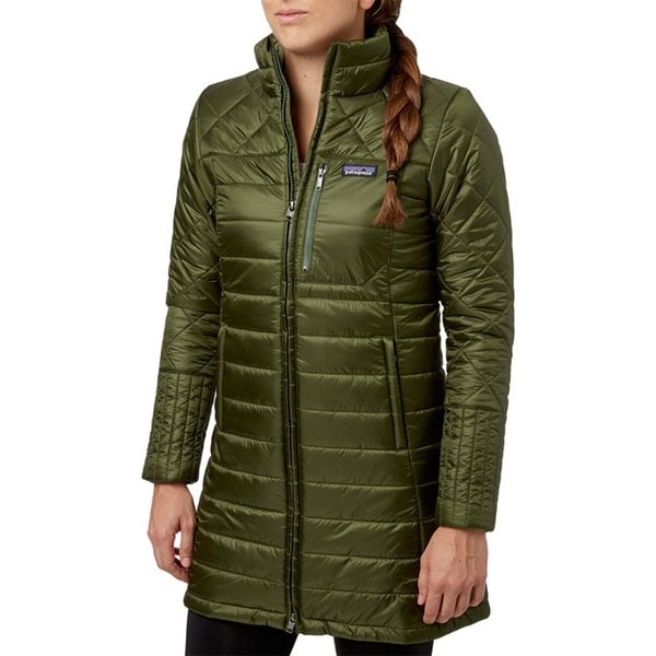 Patagonia Womens Radalie Nomad Green Down Puffer S