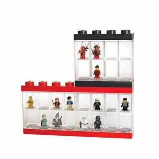 Lego Minifigure Display Cases - Holds Sixteen Figures