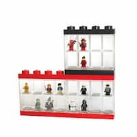 LEGO Minifigure Display Cases - Holds Sixteen Figures