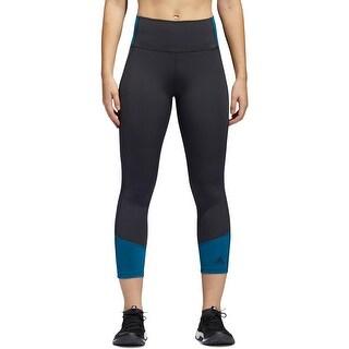Adidas Womens Athletic Tights Fitness Training