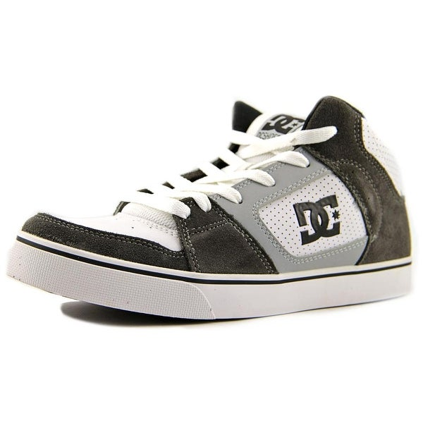 DC Shoes Patrol Men Round Toe Leather Gray Skate Shoe