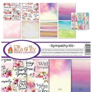 """Ella & Viv Collection Kit 12""""X12""""-Sympathy"""