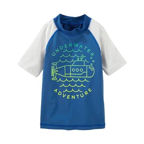 OshKosh B'gosh Underwater Adventure Rashguard Shirt