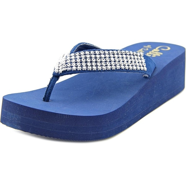 Callisto St. Barth Women Navy Sandals