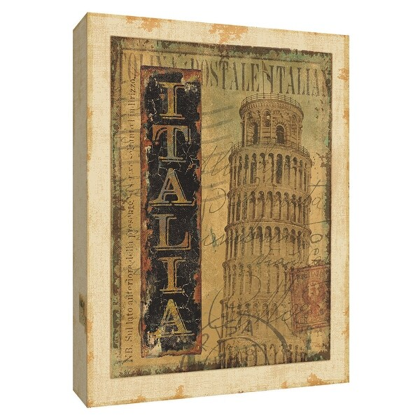 """PTM Images 9-154811 PTM Canvas Collection 10"""" x 8"""" - """"Travel Moments III"""" Giclee Buildings and Landmarks Art Print on Canvas"""