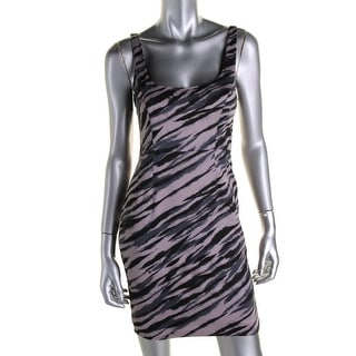 French Connection Womens Sleeveless Fitted Clubwear Dress - 4