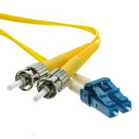 Fiber Optic Cable, LC / ST, Singlemode, Duplex, 9/125, 8 meter (26.2 foot)