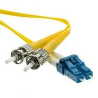 Offex Fiber Optic Cable, LC / ST, Singlemode, Duplex, 9/125, 3 meter (10 foot)