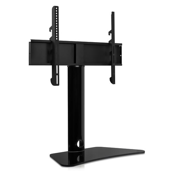 Mount-It! TV Stand Tabletop TV Mount Bracket Fits 32 to 55 Inch TVs - Black. Opens flyout.