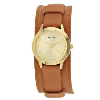 Guess Women's Chelsea W1151L4 Gold Dial watch