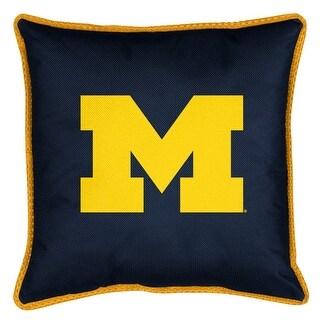 University of Michigan Decorative Jersey Trim Pillow