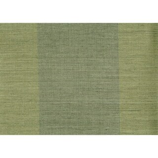 Brewster 63-54743 Yu Jie Dark Green Grasscloth Wallpaper - DARK GREEN