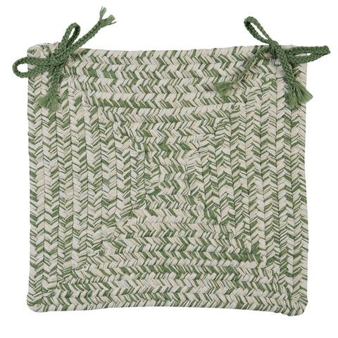 Catalina Indoor / Outdoor Braided Square Chair Pads