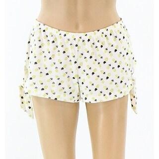 Free Press NEW Yellow Women's Size XS Pinapple Print Sleep Shorts