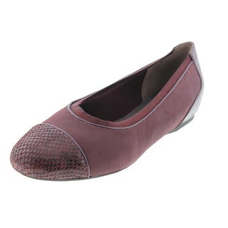Rockport Womens Flats Leather Patent Trim