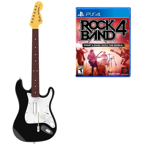 MADCATZ Rock Band 4 Wireless Guitar Bundle - PlayStation 4 Refurbished