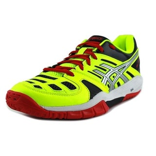 Asics GEL-FASTBALL Men  Round Toe Synthetic Yellow Running Shoe