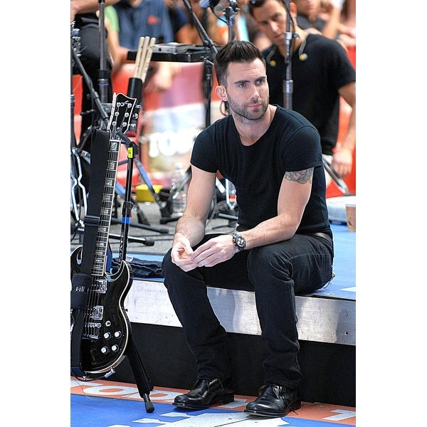 d7112bfa Shop Adam Levine Of Maroon 5 On Stage For Nbc Today Show Concert With Maroon  5 Rockefeller Center New York Ny August 17 2007 Photo By - Free Shipping On  ...