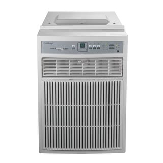 Koldfront CAC8000W  8000 BTU 115V Casement Air Conditioner with Dehumidifier and Remote Control - White
