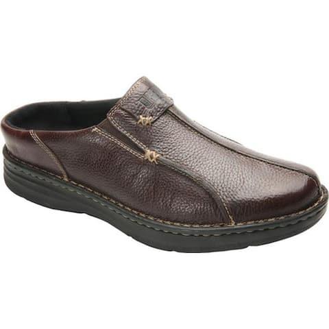 Drew Men's Jackson Mule Brown Leather