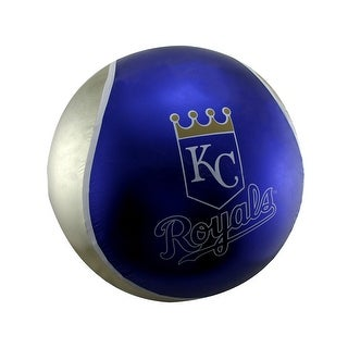 22 Inch Diameter Yall Ball Kansas City Royals Inflatable Bouncy Ball - Blue