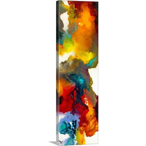"""Fantasmic IV"" Canvas Wall Art"