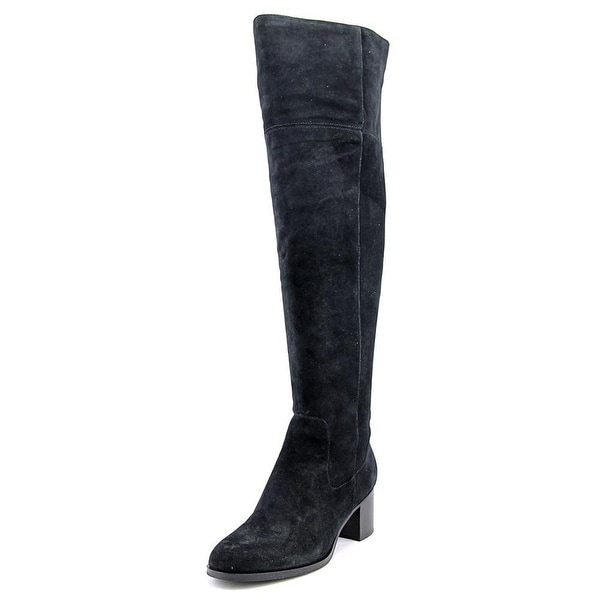 Marc Fisher Escape Wide Calf Women Black Boots