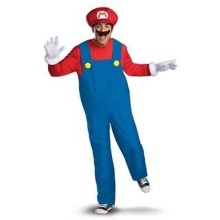 Mens Super Mario Deluxe Halloween Costume