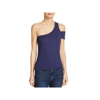 Splendid Womens Casual Top Micromodal One Shoulder